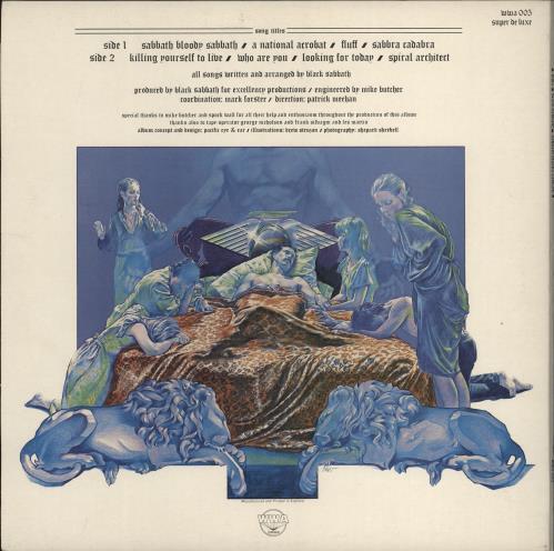 Black Sabbath Sabbath Bloody Sabbath - 3rd vinyl LP album (LP record) UK BLKLPSA773297