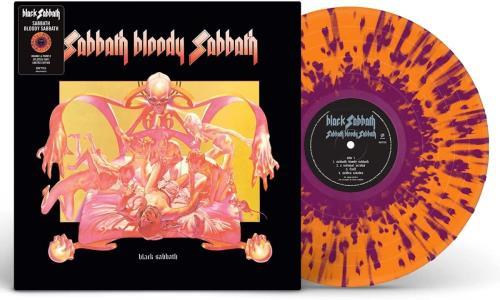 Black Sabbath Sabbath Bloody Sabbath - Orange & Purple Splatter - Sealed vinyl LP album (LP record) UK BLKLPSA775972