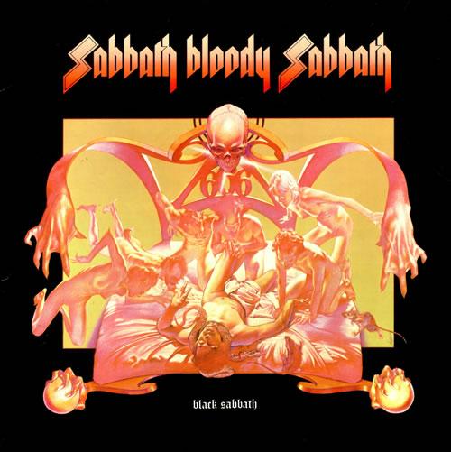 Black Sabbath Sabbath Bloody Sabbath vinyl LP album (LP record) French BLKLPSA514400