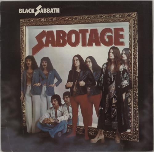 Black Sabbath Sabotage - 1st - VG vinyl LP album (LP record) UK BLKLPSA677652