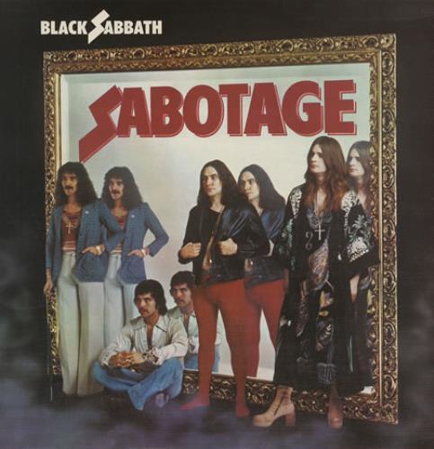 Black Sabbath Sabotage - 1st vinyl LP album (LP record) UK BLKLPSA362486