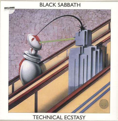Black Sabbath Technical Ecstasy - Bonus CD + Sealed vinyl LP album (LP record) UK BLKLPTE690760
