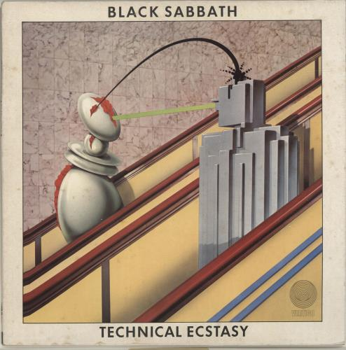 Black Sabbath Technical Ecstasy vinyl LP album (LP record) UK BLKLPTE697060