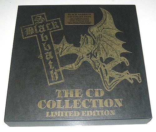 Black Sabbath The C D Collection Uk Cd Album Box Set 14713