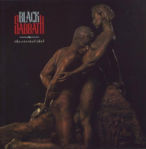 Black Sabbath The Eternal Idol - Gold promo stamped vinyl LP album (LP record) UK BLKLPTH510570