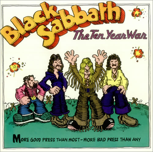 Black Sabbath The Ten Year War Us Promo Memorabilia