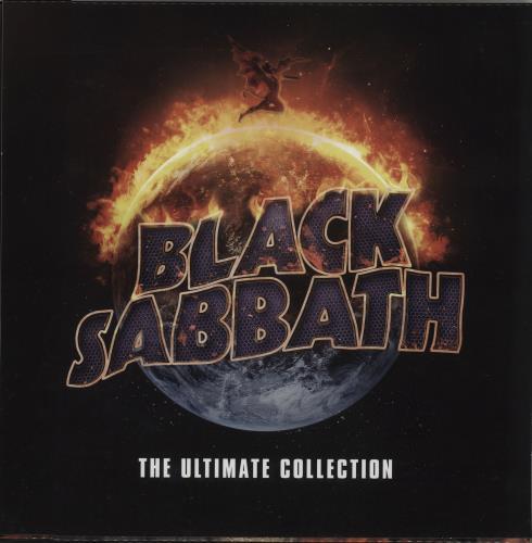 Black Sabbath The Ultimate Collection 4-LP vinyl album set (4 records) UK BLK4LTH673574