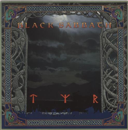 Black Sabbath Tyr vinyl LP album (LP record) UK BLKLPTY765263