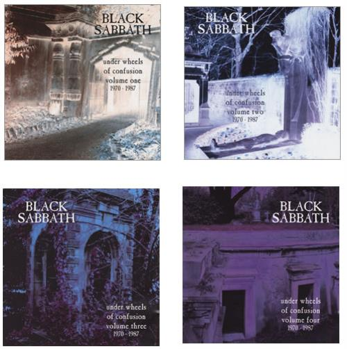 Black Sabbath Under Wheels Of Confusion 1970 1987 Uk Cd