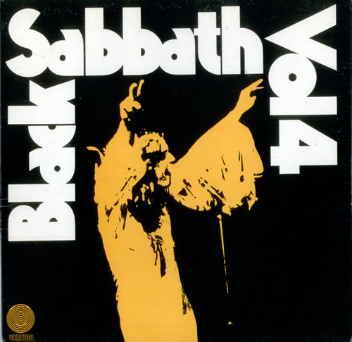 Black Sabbath Vol. 4 - 1st - EX vinyl LP album (LP record) UK BLKLPVO68365