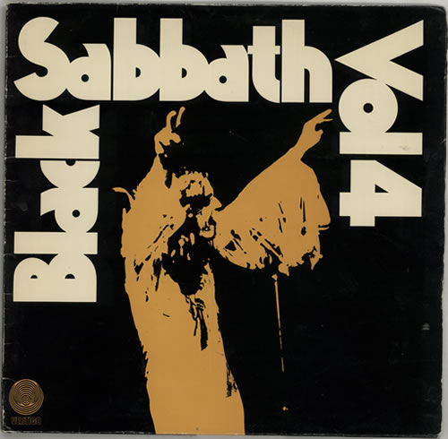 Black Sabbath Vol. 4 - 1st vinyl LP album (LP record) German BLKLPVO142879