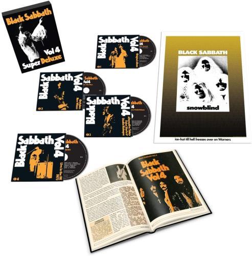 Black Sabbath Vol. 4 - Super Deluxe Edition (4CD) CD Album Box Set UK BLKDXVO762893