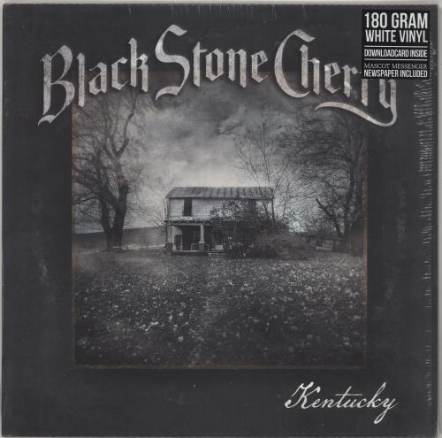 Black Stone Cherry Kentucky - White - Sealed vinyl LP album (LP record) UK AH9LPKE741850