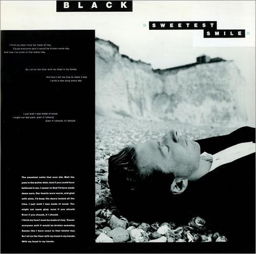 "Black Sweetest Smile 12"" vinyl single (12 inch record / Maxi-single) UK BAK12SW116142"