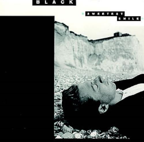 "Black Sweetest Smile 7"" vinyl single (7 inch record) UK BAK07SW295451"