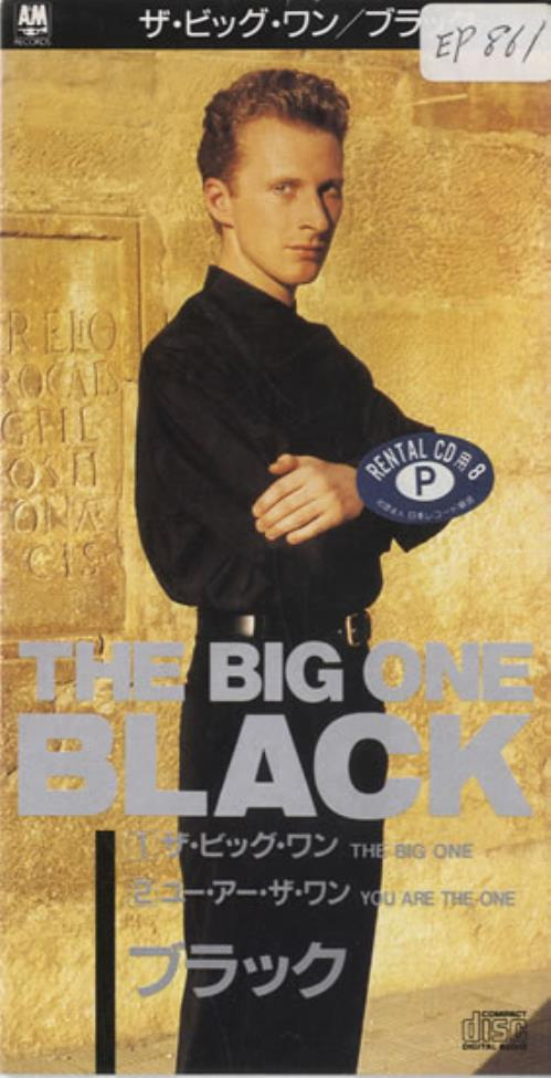 "Black The Big One 3"" CD single (CD3) Japanese BAKC3TH131239"