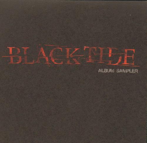 """Black Tide Album Sampler CD single (CD5 / 5"""") UK I0JC5AL669695"""