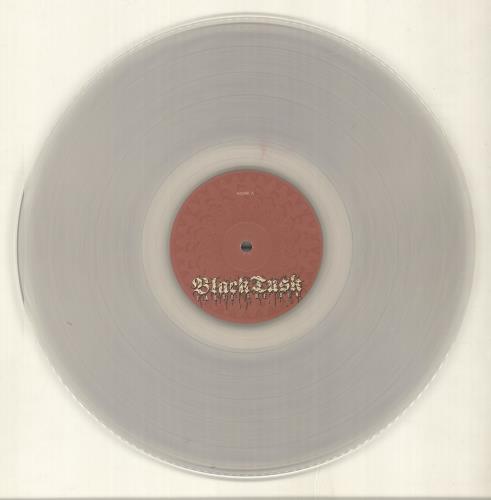 Black Tusk Taste The Sin - Clear Vinyl - Autographed vinyl LP album (LP record) US QLQLPTA696536