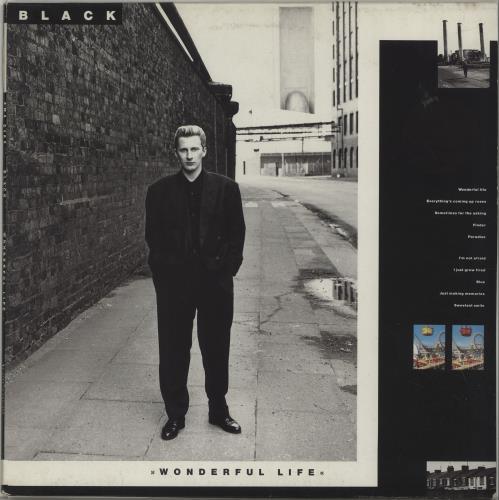 Black Wonderful Life - EX vinyl LP album (LP record) UK BAKLPWO675292
