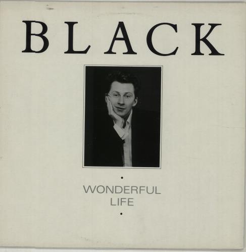 "Black Wonderful Life 12"" vinyl single (12 inch record / Maxi-single) UK BAK12WO316890"