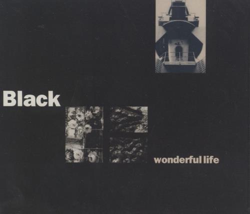 "Black Wonderful Life CD single (CD5 / 5"") US BAKC5WO364402"