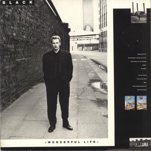 Black Wonderful Life vinyl LP album (LP record) UK BAKLPWO718965