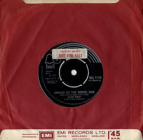 "Blair Emry Annabelle 7"" vinyl single (7 inch record) UK E6A07AN593584"