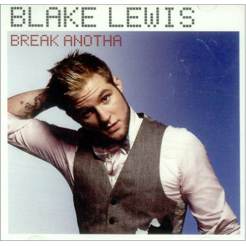 "Blake Lewis Break Anotha CD single (CD5 / 5"") US EWIC5BR424881"
