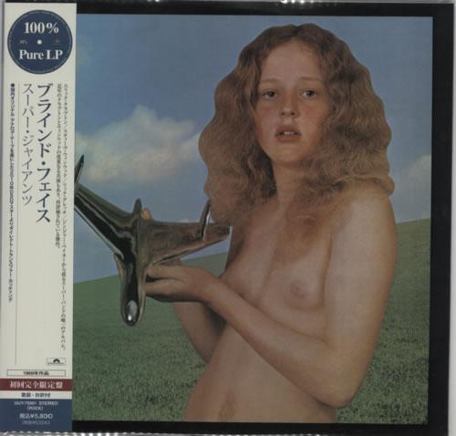 Blind Faith Blind Faith - 180gram Clear Vinyl vinyl LP album (LP record) Japanese B-FLPBL593226