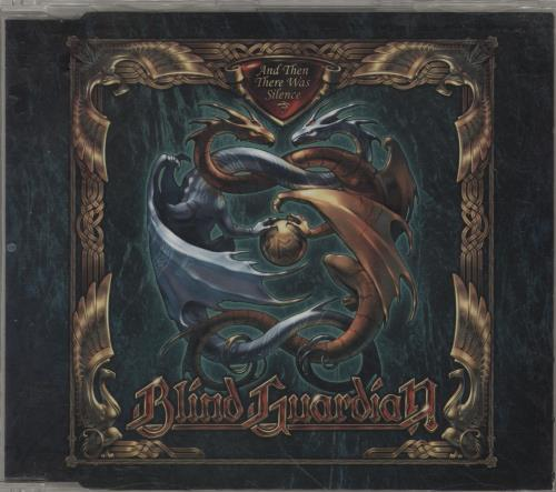 """Blind Guardian And Then There Was Silence CD single (CD5 / 5"""") German QL8C5AN755765"""