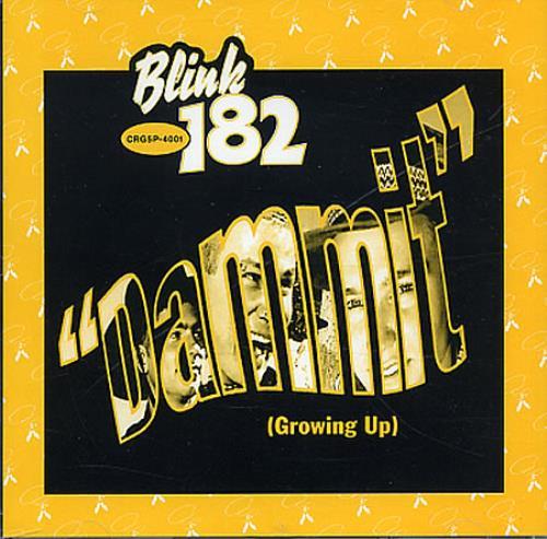 "Blink 182 Dammit (Growing Up) CD single (CD5 / 5"") US B18C5DA347216"