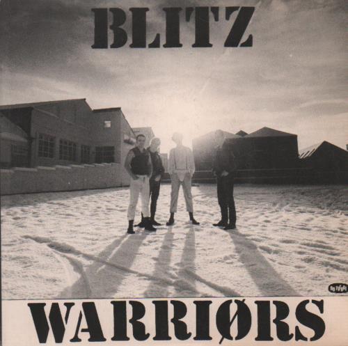 "Blitz Warriors 7"" vinyl single (7 inch record) UK BLI07WA01529"