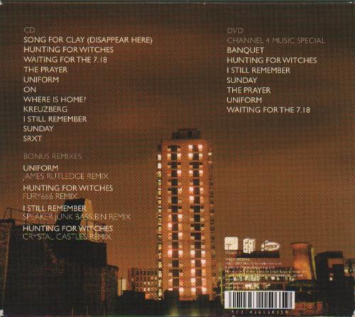 Bloc Party A Weekend In The City 2-disc CD/DVD set Australian BB52DAW407510