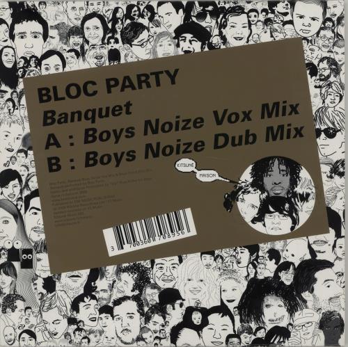"""Bloc Party Banquet (Boys Noize Remixes) 10"""" vinyl single (10"""" record) UK BB510BA351208"""