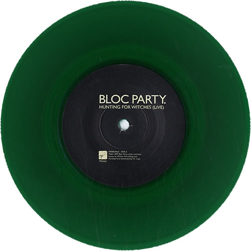 "Bloc Party Hunting For Witches - 2 x 7"" 7"" vinyl single (7 inch record) UK BB507HU565624"