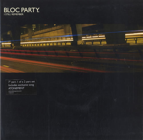 """Bloc Party I Still Remember - Two Record Pack 7"""" vinyl single (7 inch record) UK BB507IS565630"""