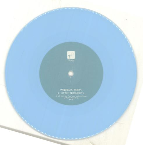 "Bloc Party Little Thoughts - 1st - Blue Vinyl 7"" vinyl single (7 inch record) UK BB507LI294852"