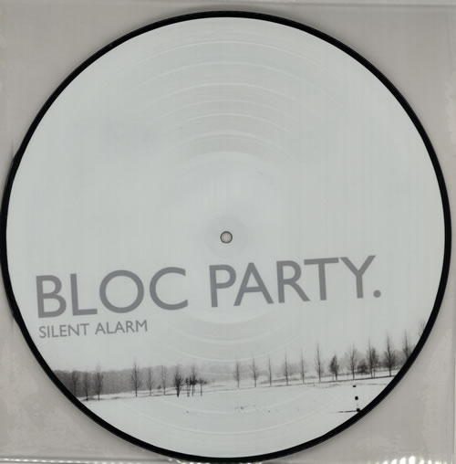 Bloc Party Silent Alarm picture disc LP (vinyl picture disc album) UK BB5PDSI385723