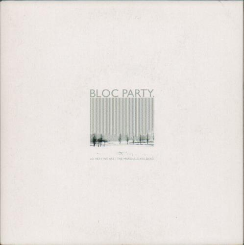 """Bloc Party So Here We Are 7"""" vinyl single (7 inch record) UK BB507SO675617"""