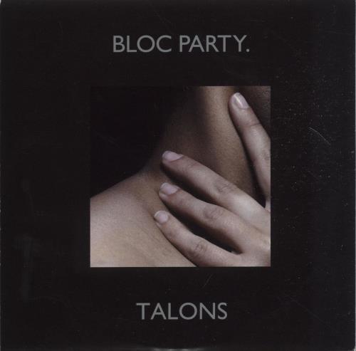 """Bloc Party Talons CD single (CD5 / 5"""") UK BB5C5TA449826"""