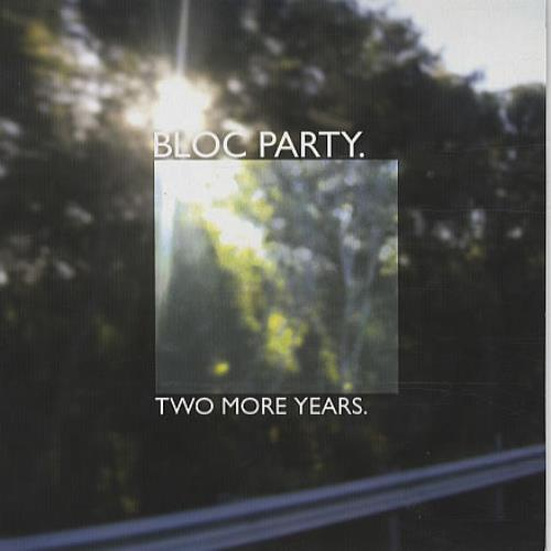"Bloc Party Two More Years - Green Vinyl 7"" vinyl single (7 inch record) UK BB507TW337594"