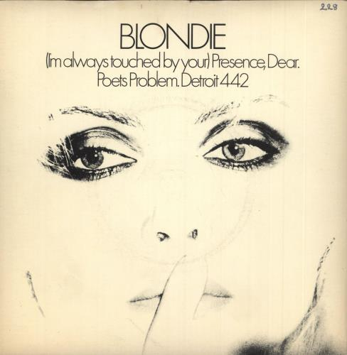 """Blondie (I'm Always Touched By Your) Presence, Dear - Inj - P/S 7"""" vinyl single (7 inch record) UK BLO07IM677422"""