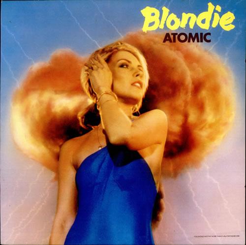 "Blondie Atomic - EX 12"" vinyl single (12 inch record / Maxi-single) UK BLO12AT34645"