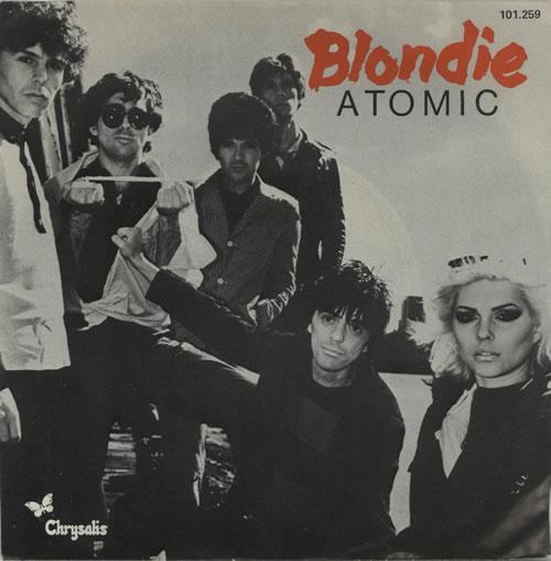 "Blondie Atomic 7"" vinyl single (7 inch record) Dutch BLO07AT159530"