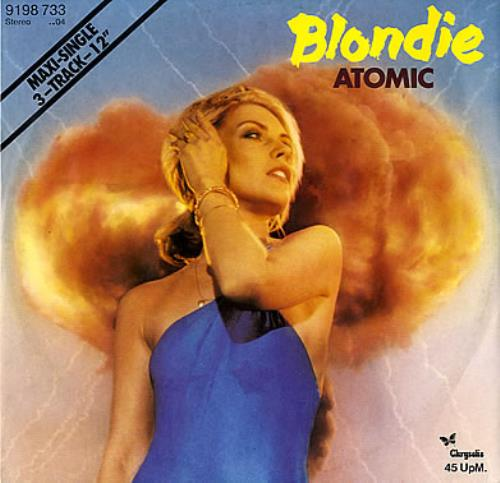 "Blondie Atomic 12"" vinyl single (12 inch record / Maxi-single) German BLO12AT349930"