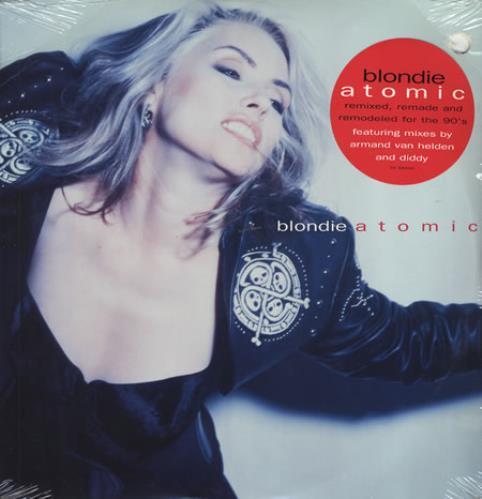 "Blondie Atomic 12"" vinyl single (12 inch record / Maxi-single) US BLO12AT41523"