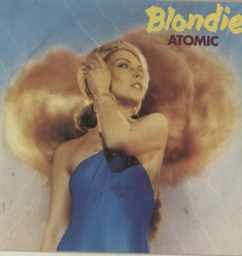 "Blondie Atomic 7"" vinyl single (7 inch record) French BLO07AT582129"