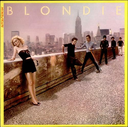 Blondie Autoamerican + Poster vinyl LP album (LP record) UK BLOLPAU530049