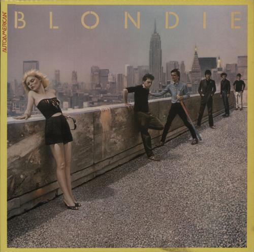 Blondie Autoamerican vinyl LP album (LP record) UK BLOLPAU290329