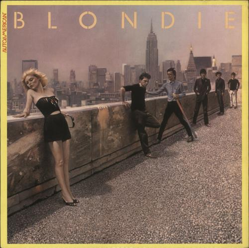 Blondie Autoamerican vinyl LP album (LP record) Canadian BLOLPAU523417